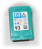 how to fill color ink cartridges hp
