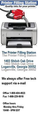 Printer Filling Station is a small printer ink & toner retailer which operates the website flirtation.ga of today, we have 7 active Printer Filling Station promo codes. The Dealspotr community last updated this page on October 4, On average, we launch 3 new Printer Filling Station promo codes or coupons each month, with an average discount of 13% off and an .